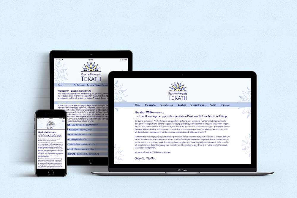 4 coporate design tekath website